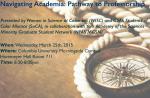 WISC_Navigating Academia